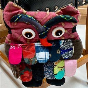 HAND MADE Bags - ADORABLE HAND MADE 🦉 OWL ADJUSTABLE CROSSBODY BAG